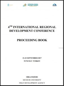 The Impacts of Dried Export on Regional Development and Economy: A Case Study from Malatya Province